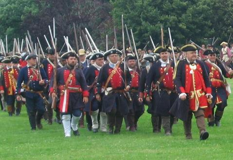 French And Indian War Provincial Uniforms Massachusetts provincial