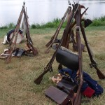 Muskets and gear